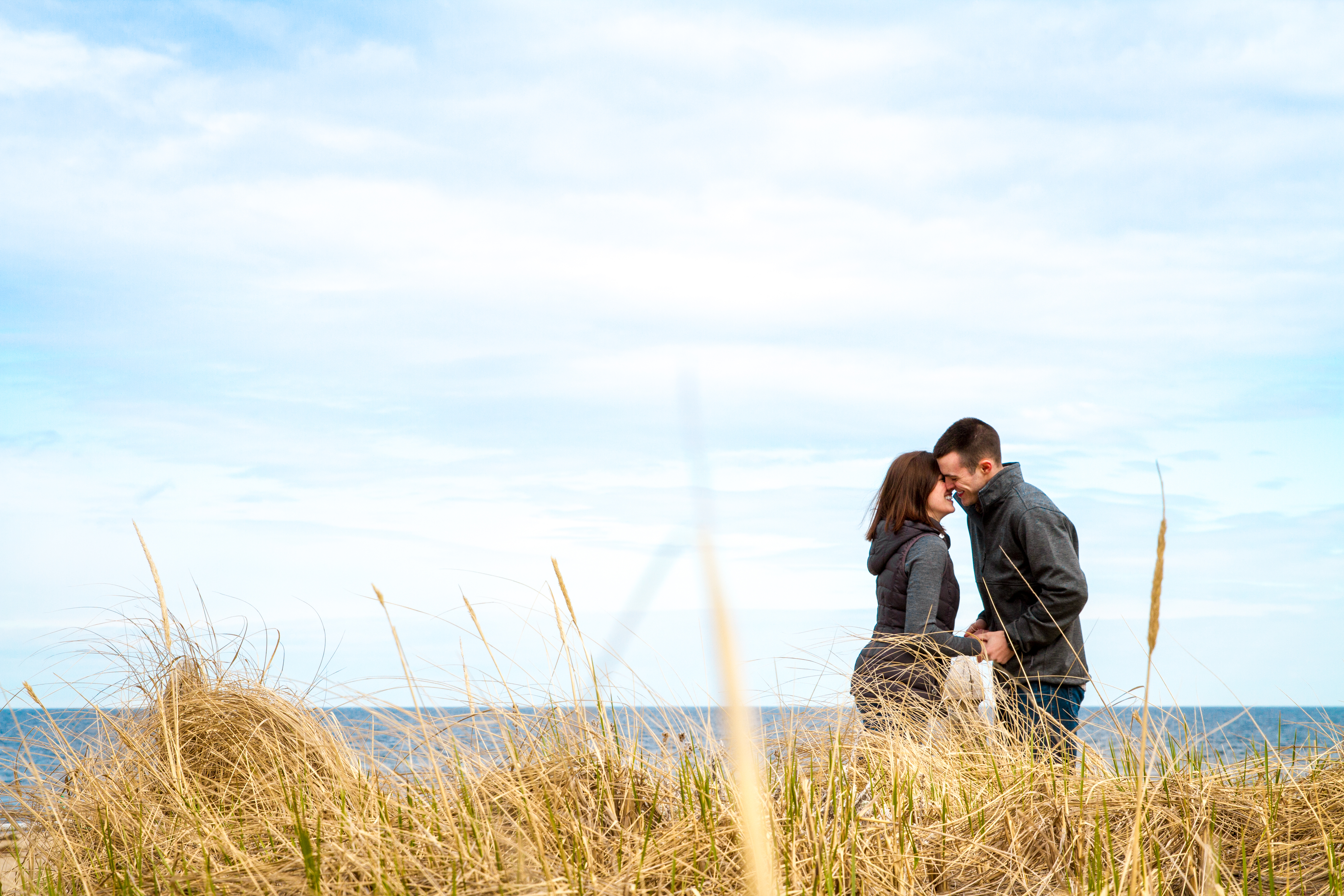 Angela And Nick Old Orchard Beach Sweetheart Session Justin Mccallum Photography